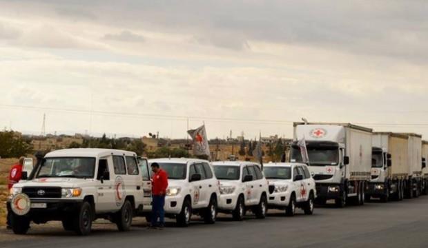 الصليب الأحمر: بدء عمليات إجلاء الحالات الصحية الحرجة من الغوطة الشرقية