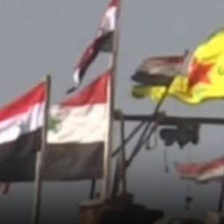 اشتباكات بين الحليفين الإرهابيين( ميليشات قسد والأسد) في عين عيسى