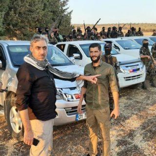 نبيه موسى طه  : ان هدف عملية نبع السلام تطهير المنطقة من منظمة pkk الإرهابية.