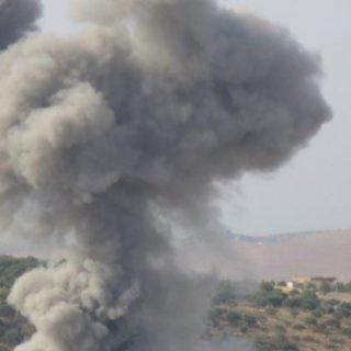 القصف الروسي على إدلب  يسفر عن مصرع ١٢ شخصاً