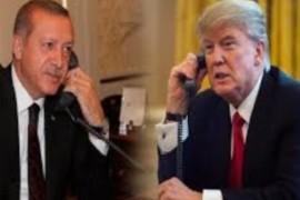 الرئيس الأمريكي دونالد ترامب يبدي قلقه تجاه الوضع في إدلب للرئيس التركي رجب طيب أردوغان.