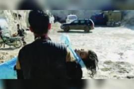 الذكرى السنوية الثالثة لقصف خان شيخون بغاز السارين.
