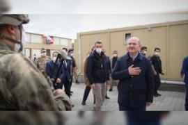 مسؤول تركي رفيع المستوى يتوجه إلى الأراضي السورية .