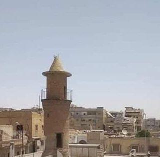 لا تسمحوا لقسد أن تهدم المسجد الكبير في الرقة