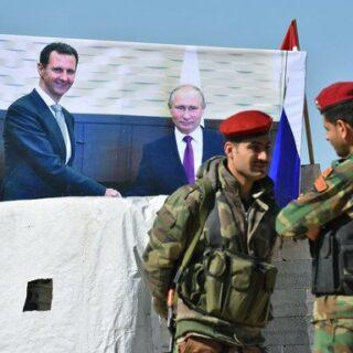 خمسة أعوام وتستمر روسيا في ارتكاب ابشع الجرائم ضد الشعب السوري.