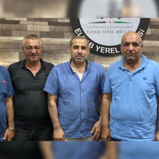 لقاء بين رابطة المستقلين الكرد السوريين والمجلس المحلي في مدينة الباب