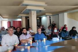 رابطة المستقلين الكرد السوريين تعقد جلسة حوارية في عفرين  بالتعاون مع مركز عمران للدراسات .