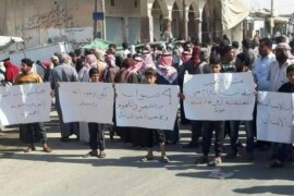 خروج مظاهرات كبيرة في مدينة الشدادي ضد ممارسات ميليشيا قسد.