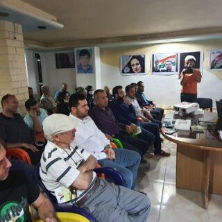 رابطة المستقلين الكرد السوريين في عفرين تحيي الذكرى التاسعة لاستشهاد عميد الشهداء الشهيد مشعل التمو.